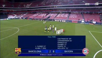 Photo of بايرن ميونيخ يتغلب على برشلونة 8-2 ويتأهل إلى نصف نهائي دوري الأبطال
