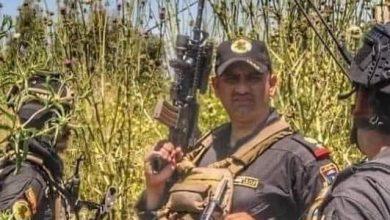 Photo of استشهاد امر فوج صلاح الدين مكافحة الارهاب في جبال مكحول