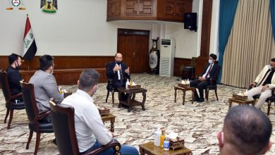 Photo of رئيس ائتلاف دولة القانون السيد نوري المالكي يستقبل وفد تنسيقية المهن الصحية والطبية