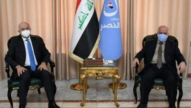 Photo of الدكتور حيدر العبادي يستقبل رئيس الجمهورية و يبحث معه اوضاع البلد والانتخابات المبكرة