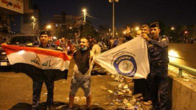 Photo of الشرطة الاتحادية تبعث رسائل حب إلى المتظاهرين