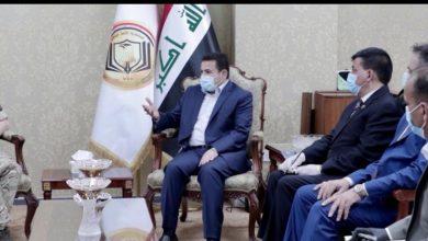 Photo of مستشار  الأمن الوطني السيد قاسم الأعرجي  يستقبل نائب قائد قوات التحالف الدولي في العراق