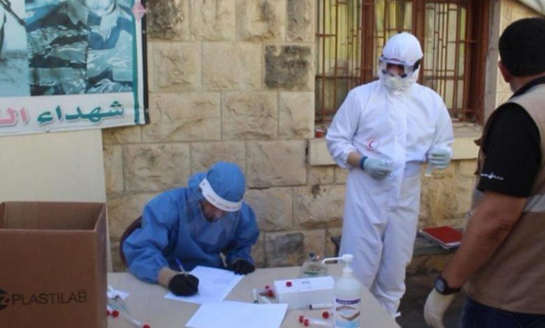 Photo of فريق مستشفى الشهيد محمود الهمشري في عين الحلوة