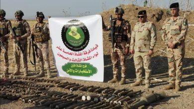 Photo of الاستخبارات العسكرية وقوة من الفرقة ١٥ تستولي على كدس  للاسلحة والاعتدة في تلعفر