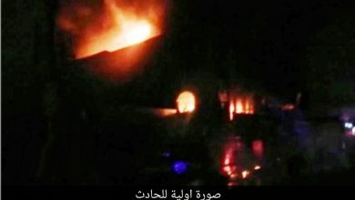 Photo of انفجار كبير بمخزن لتعبئة قناني الاوكسجين الطبي وسط محافظة كركوك