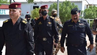 Photo of تكليف اللواء مظفر كاظم سلمان التميمي بمنصب امراً للقوة الضاربة في محافظة البصرة