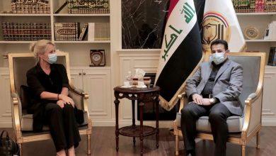 Photo of مستشار الأمن القومي قاسم الأعرجي يستقبل الممثلة الخاصة للأمين العام للأمم المتحدة في العراق جينين بلاسخارت