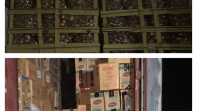 Photo of المنافذ الحدودية تعلن عن ضبط تهرب من دفع الرسوم الكمركية وعدم وجود إجازة استيراد في منفذي أم قصر الجنوبي والقائم الحدوديين