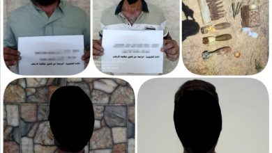 Photo of وكالة الاستخبارات: القبض على أربعة ارهابيين وضبط كدس للعتاد في كركوك