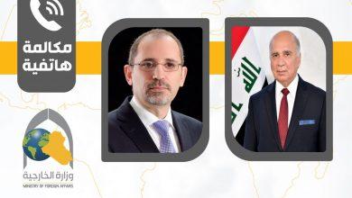 Photo of اتصال هاتفيّ بين وزير الخارجيّة ونظيره الأردنيّ أيمن الصفديّ
