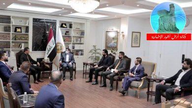 Photo of مستشار الأمن القومي يستقبل مجموعة من شباب مدينة الكاظمية المقدسة