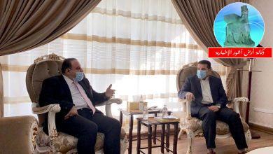 Photo of مستشار الأمن القومي السيد قاسم الأعرجي يستقبل وزير العدل القاضي سالار عبد الستار محمد