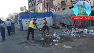 Photo of امانة بغداد تعلن رفع ٩٥٠ طناً من مواقع التظاهر وسط بغداد وتباشر بتنظيف جسر السنك بعد انسحاب المتظاهرين