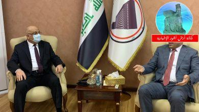 Photo of وزير التخطيط يبحث مع رئيس صندوق اعادة الاعمار، واقع المشاريع المنفذة في المناطق المحررة