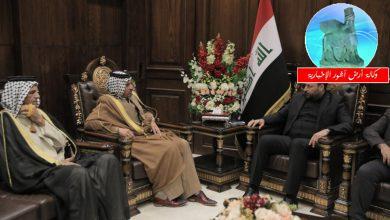 Photo of النائب الاول لرئيس مجلس النواب يستقبل الشيخ رعد الكعبي وعدد من وجهاء الخيلانية