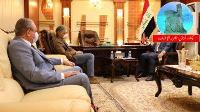 Photo of وزير التعليم يستقبل مدير البعثة الآثارية الإيطالية في العراق نيكولو ماركيتي