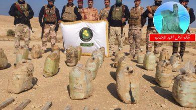Photo of الاستخبارات العسكرية تستولي على كدس للعبوات والمتفجرات في صحراء الشامية