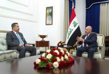 Photo of لبحث الاوضاع التي يمر بها العراق..   صالح يستقبل  السوداني ويؤكد على  ضرورة  إنجاح الانتخابات المقبلة