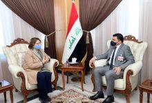Photo of وزير الموارد المائية يلتقي نائب المبعوث الخاص للامم المتحدة في بغداد