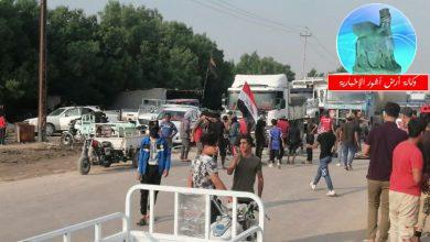 Photo of لليوم الثاني على التوالي.. متظاهرون يقطعون طريق الناصرية السريع المؤدي للبصرة
