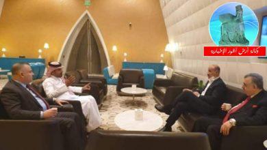 Photo of درجال يلتقي بالدوحة سفير العراق في قطر