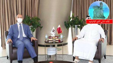 Photo of الوزير درجال يلتقي في الدوحة رئيس أتحاد الكرة القطري ويبحث المواضيع ذات الإهتمام المشترك