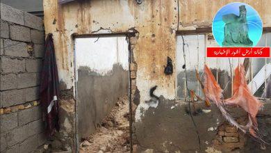 Photo of بسبب الأمطار.. انهيار منزل عائلة في البصرة يؤدي لمصرع الأب وإصابة افراد العائلة بكاملها