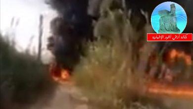 Photo of اندلاع حريق كبير في أنبوب نفطي يربط العراق بلبنان