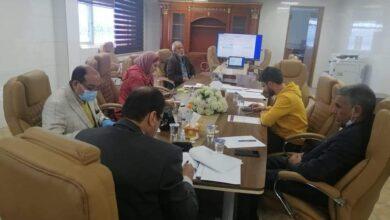 Photo of فريق مشروع إدماج الشباب العراقي المتضرر من النزاع يبحث مع ممثل البنك الدولي المشاريع  المجتمعية