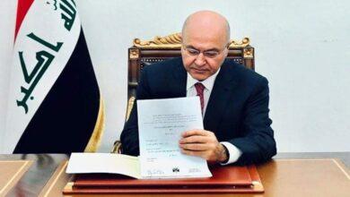 Photo of رئيس الجمهورية يصادق على قانون تمويل نفقات الانتخابات النيابية