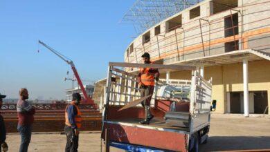 Photo of مَشروع قاعة بغداد آرينا 7 آلف مُتفرج يَشهد تَقدُمًا في سَيرِ الأعمال