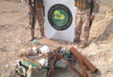 Photo of الاستخبارات العسكرية تستولي على كدس للعبوات في الكرمة