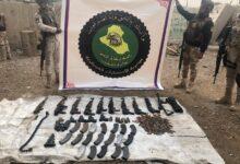 Photo of الاستخبارات العسكرية تستولي على اسلحة واعتدة غير مرخصة شمالي بغداد