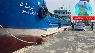 Photo of المنافذ الحدودية تتمكن من ضبط مادة(الترياك) المخدرة وإعادة ارسالية مخالفة للضوابط في منفذي زرباطية وميناء المعقل