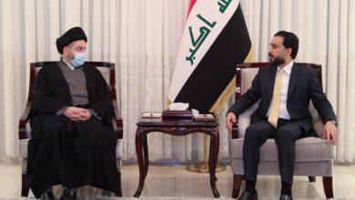 Photo of رئيس مجلس النواب يستقبل رئيس تحالف عراقيون