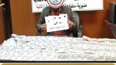 Photo of وكالة الاستخبارات :القبض على احد المتاجرين بالعملة المزيفة في بغداد