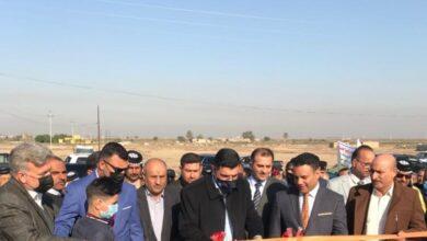 Photo of وزير الموارد المائية يفتتح مشروع السابلة المبطن في محافظة ذي قار