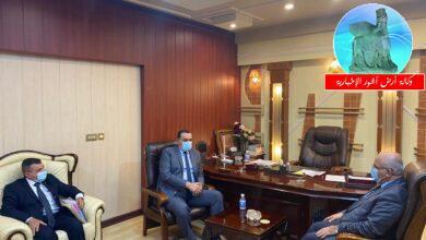 Photo of وزير التعليم يستقبل محافظ كركوك ويبحثان دعم وتطوير المؤسسات الجامعية فيها