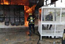 Photo of الدفاع المدني يخمد حريق مخبز في كركوك