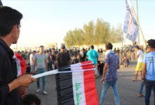Photo of هذا ما حصل في تظاهرات البصرة مساء اليوم الجمعة ..