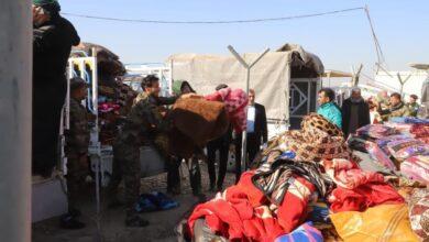 Photo of مواكب الدعم اللوجستي تستجيب لسرايا السلام  في سامراء