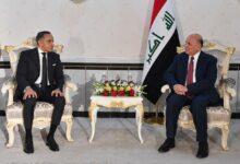 Photo of وزير الخارجيّة يستقبل السفير المصري لمناسبة إنتهاء مهام عمله الدبلوماسيّة في العراق