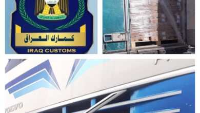 Photo of هيئةالكمارك.. ضبط شاحنة مخالفة عند مداخل مديرية كمرك المنطقة الشمالية