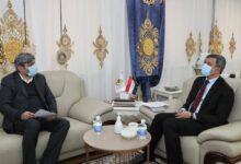 Photo of وزير النفط يستقبل مدير شركة هاليبرتون