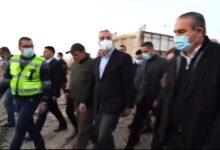 Photo of رئيس مجلس الوزراء السيد مصطفى الكاظمي يطلع ميدانيا على أعمال مشروع تأهيل مقتربات شارع قناة الجيش