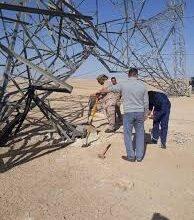 Photo of إعادة تأهيل 15 برجا كهربائيا تعرضت لأعمال تخريبية في الانبار