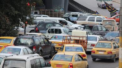 "Photo of زحام شديد في بغداد يمتد بين الكرخ والرصافة على ""جسري الجادرية والطابقين"""