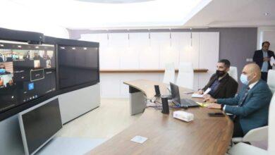 Photo of النقل تجتمع مع البنك المركزي عبر دائرة فيديوية لبحث  نظام الأتمتة للأجراءات المحاسبية