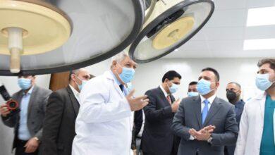 Photo of وزير الصحة والبيئة يفتتح مركز متخصص لعلاج كورونا سعة 50 سرير مجهز بأحدث الاجهزة في مستشفى ابو غريب العام
