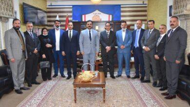 Photo of الوائلي يستقبل اتحاد الغرف التجارية العراقية وعددا من التجار والمستوردين